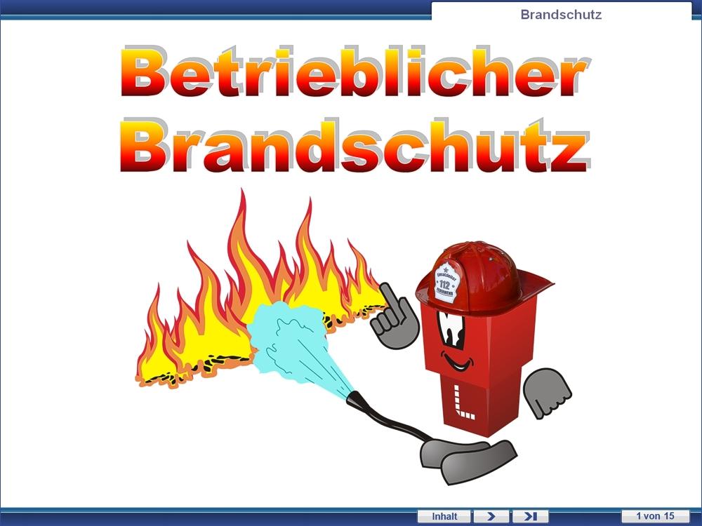 Brandschutz Arbeitsstoffe